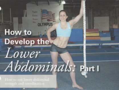 How to develop Lower the Abdominals